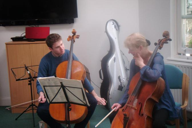 Two favourite 'cellists make a welcome return